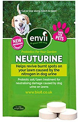 Envii Neuturine Dog Urine Neutraliser Tablets Repairs Lawn Burn Sports Caused By Dog Wee 12 Tablets Amazon Co Uk Pet Dog Urine Neutralizer Dog Urine Dogs