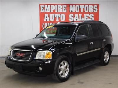 Envoy Slt 2005 Gmc Envoy Slt 4 2l 6cyl 4wd Loaded Black Black