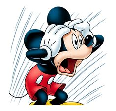 Mickey Mouse: Lovely Smile sticker #37808