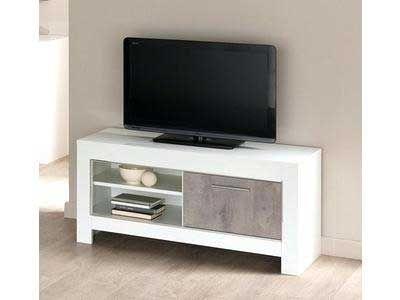Petit Meuble Tv Blanc Laque Pm Petit Meuble Tele Blanc Laque