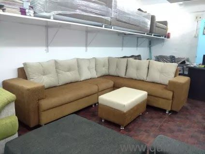 Refurbished Used Sofa Sets Furniture In Ahmedabad Second Sofia Brown Sofa Set Office Furniture Khomi For Sale 5 In 2020 Brown Sofa Set Leather Sofa Set Unique Sofas