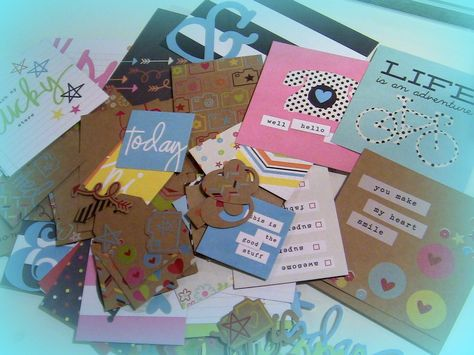 Simple Stories SN@P Double-Sided Cards & Bits and Pieces Die-cuts Pack K...