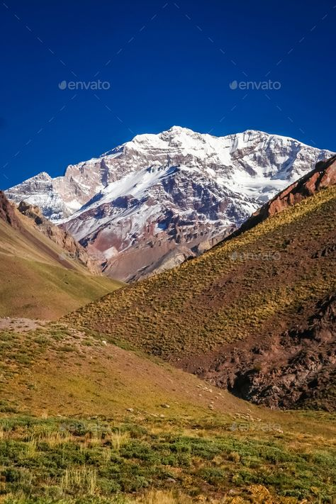 Majestic peak of Aconcagua by pawopa3336. Aconcagua, the highest mountain peak outside Himalayas, Argentina#Aconcagua, #Majestic, #peak, #Himalayas