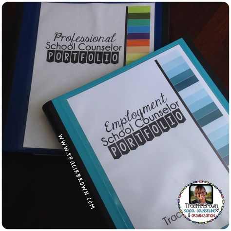 A great post for any stage in your school counseling program! Inside my grad school portfolio! www.tracirbrown.com