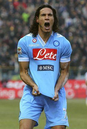 Edinson Cavani Ssc Napoli Sport Inspiration Premier League Football Soccer Stars