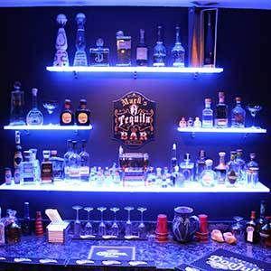 Bar Shelving For Home Commercial Bars Led Lighted Liquor
