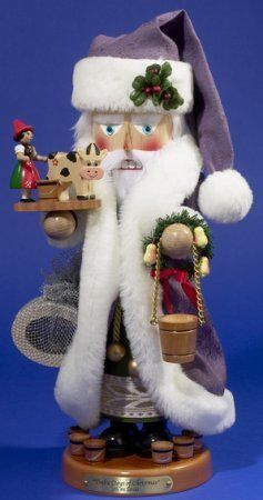 Steinbach SIGNED 5th Day of Christmas SANTA