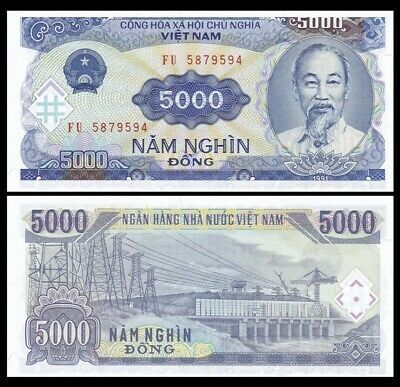 Vietnamese Dong Authentic Currency