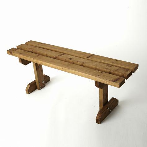 Terrific Prop 36 Wooden Bench Seat Height 45Cm X Width 120Cm X Beatyapartments Chair Design Images Beatyapartmentscom