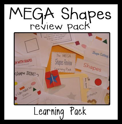 Shapes for ALL! Grab these freebies!