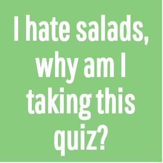 Order A Salad In Nine Steps And We'll Guess Your Celebrity