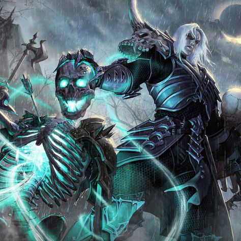 Diablo Fan Art - Necromancer #Diablo #blizzard #Diablo3 #D3 #Dios #reaperofsouls #game #players