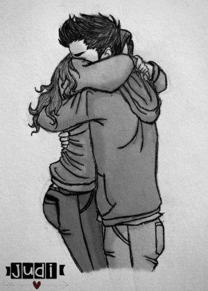 Imagenes De Amor Para Dibujar Bonitos Dibujos De Amor Male Sketch Humanoid Sketch Art