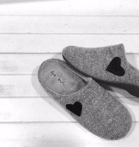 Zapatillas  Garzón Love. Para andar cómoda en casa.😍  4a7142ddbfa