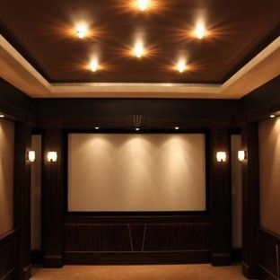 Home Theater Lighting Design Home Office Inspiration For Large