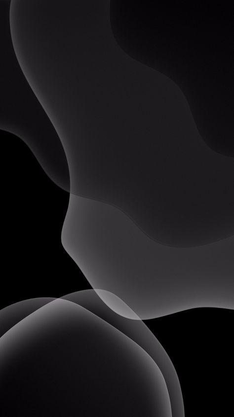 iOS 13 Dark Mode Wallpaper iPhone XR, iPhone XS, iPhone XS Max, iPhone X