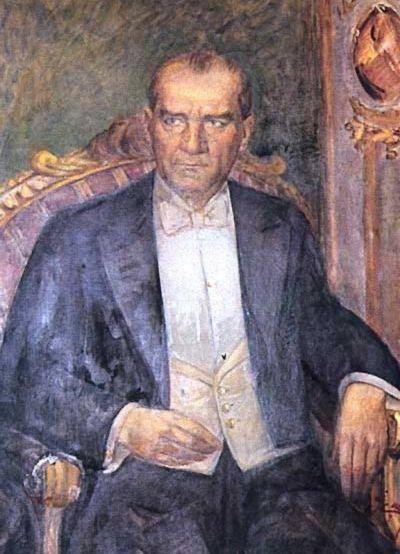 Ataturk Un Yagli Boya Resimleri Turk Sanati Sanatsal Resimler Resim