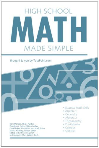DOWNLOAD PDF High School Math Made Simple Free Epub MOBI