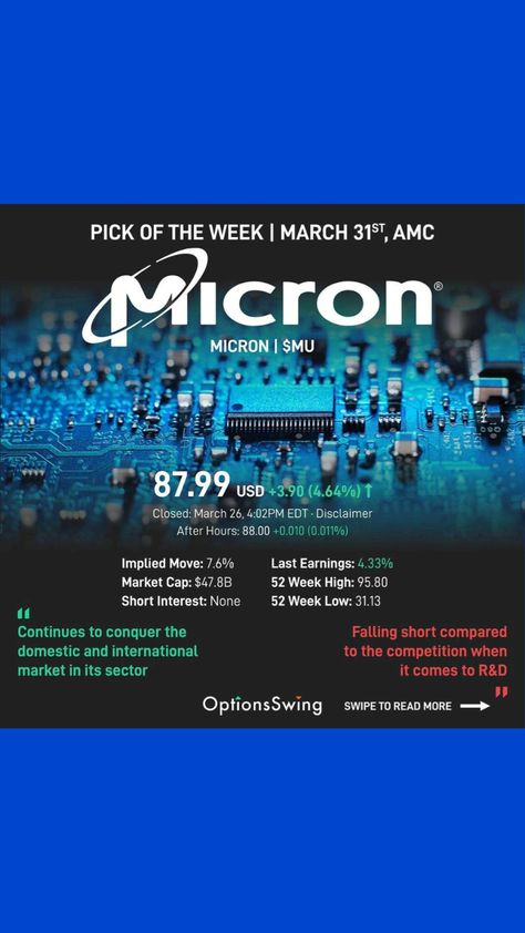 Micron stock forecast! investing for beginners