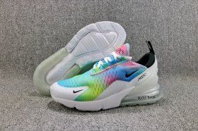 Dependable Nike Air Max 270 Flyknit White Rainbow AH6789 700