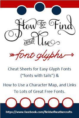 Samantha Font Cheat Sheet : samantha, cheat, sheet, Glyphs, Fonts, Cricut, Fonts,, Tutorials,, Silhouette