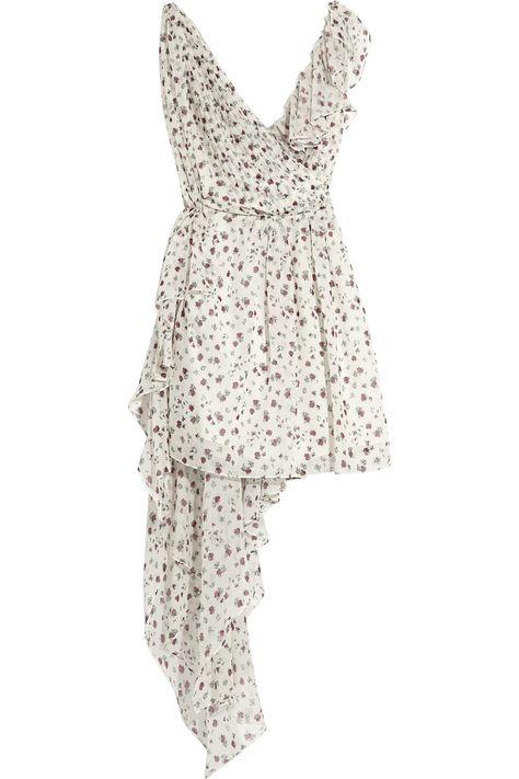 Saint LaurentPrinted wool and silk-blend dress, $5,290