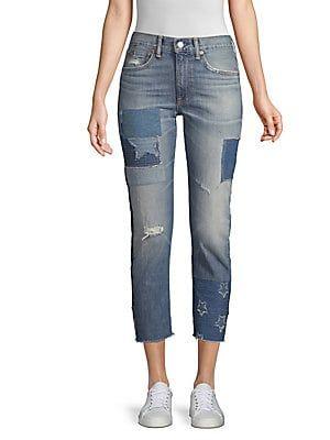 e9b8597fa2 Polo Ralph Lauren The Waverly Straight Crop Jeans | Indigo blues ...