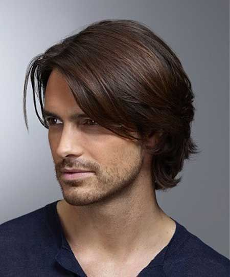Now Fashions 2013 Straight Hairstyles For Men 2013 Hairstyles Men Straight Strai In 2020 Mens Medium Length Hairstyles Mens Hairstyles Medium Long Hair Styles Men