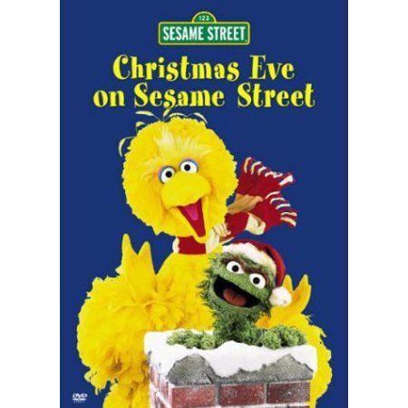 Christmas Eve On Sesame Street Sesame Street Dvd Sesame Street Christmas Sesame Street