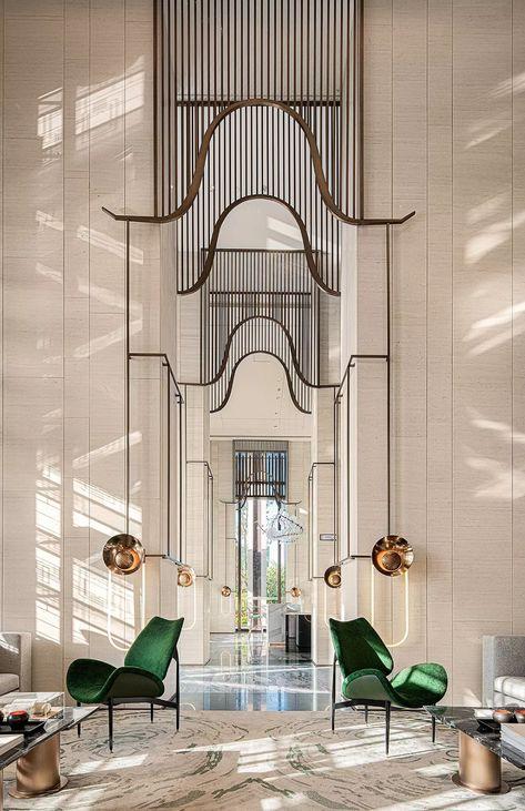 home interior dream Architecture Design, Architecture Restaurant, Restaurant Design, Hotel Lobby Design, Hotel Lounge, W Hotel, Lounge Design, Home Design, Modern Design