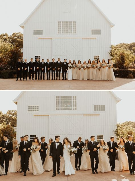 Neutral Wedding Colors // Must-Have Bridal Party Photos // Modern White Barn // White Sparrow Barn // Dallas Wedding Photographer // Modern Boho Wedding Style // Meg Amorette Photography wedding photography White Sparrow Barn Wedding in Dallas, TX Barn Wedding Photos, Wedding Picture Poses, Wedding Photography Poses, Photography Ideas, Red Barn Weddings, Wedding Family Poses, Wedding Photo Poses, Wedding Photography Checklist, Hindu Weddings