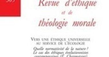 Revue D Ethique Et De Theologie Morale 2019 5 N 305 Vers Une Ethique Universelle Au Service De L Ecologie En 2020 Theologie Le Moral Livre Philosophique