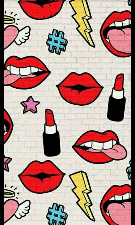 Pin By Berta Bettina On Rajzolas Lip Wallpaper Iphone Wallpaper Iphone Art