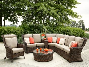 With Its High Back Design The Havana Club Sectional By Ratana In