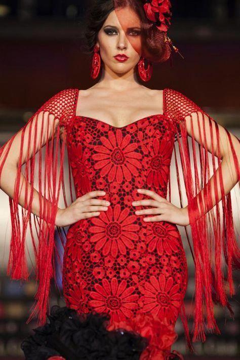 Esta Son Algunas De Las Imágenes De La Jornada Del Sábado En La Pasarela De La Moda Flamenca De Marbella En Su 3ª Flamenco Dress Spain Fashion Spanish Fashion