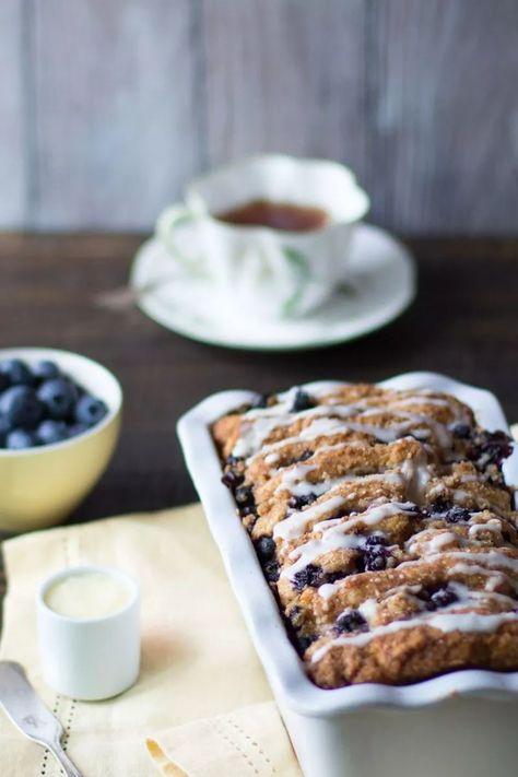 Blueberry Scone Bread