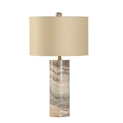 Chelsea House Marble Column 30 Table Lamp In 2020 Table Lamp