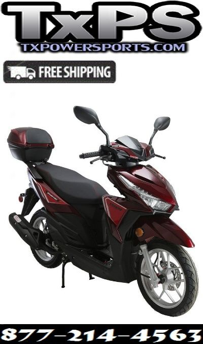 Vitacci Spark 150cc Scooter Gy6 4 Stroke Air Cooled Sale Price 1 179 00 150cc Scooter 150cc Scooter