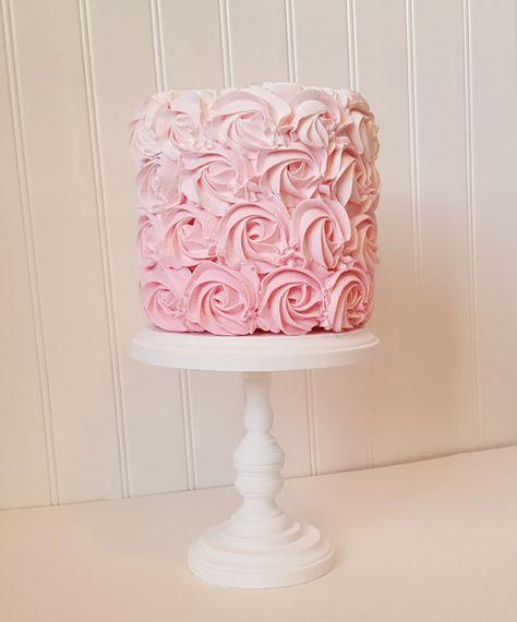 6 Inch Cake Stand Cupcake Stand Rustic Wood Smash Cake