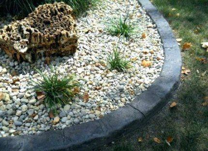 Landscaping Edging Stone Driveways 43 Best Ideas Concrete Garden Edging Concrete Landscape Edging Landscape Edging Stone
