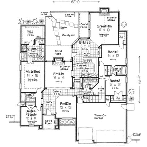 European Style House Plan - 4 Beds 4.00 Baths 3387 Sq/Ft ... on house building, house blueprints, house rendering, house elevations, house framing, house layout, house maps, house styles, house exterior, house foundation, house types, house painting, house design, house construction, house drawings, house structure, house plants, house models, house clip art, house roof,