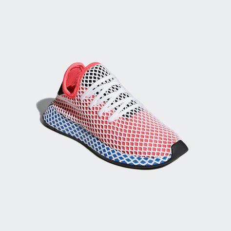 a4796ba210d8d Deerupt Runner Shoes Red 3.5 Kids