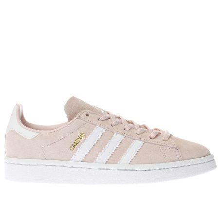 Adidas pale pink campus trainers #Get