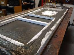 Pour In Situ Concrete Worktops Google Search Making Concrete