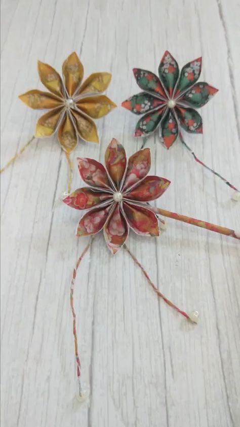 DIY Paper Hairpin