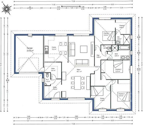 Maison - Emma - Maisons LARA - 190000 euros - 115 m2 Faire