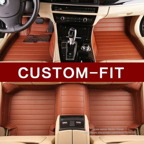 59eec7386a5 Customized car floor mats for Toyota Highlander Camry Prado RAV4 Corolla  Yaris car-styling high