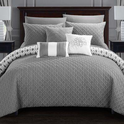 Zacarias Reversible Comforter Set Master Bedroom Comforter Sets Bedding Master Bedroom Bedroom Comforter Sets