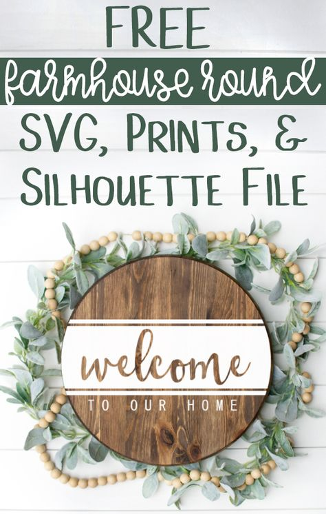 Crafts Obtain this free Welcome to Our House SVG, Silhouette file, and Prints! It's the good SVG for Silhouette Projects, Devon, Cricut Craft Room, Cricut Tutorials, Cricut Ideas, Cricut Project Ideas, Diy Signs, Diy House Signs, Wood Signs