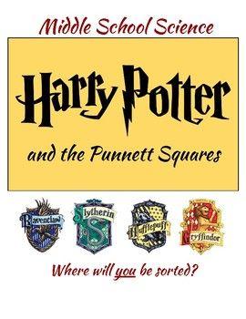 Harry Potter Punnett Squares- Middle School Science